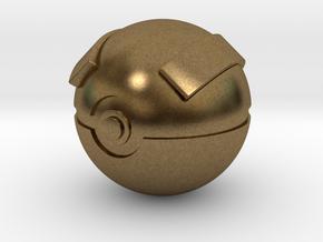 Great Ball Original Size (8cm in diameter) in Natural Bronze