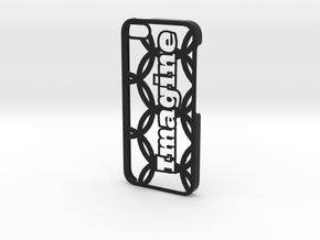 iPhone 5 Case - Customizable in Black Natural Versatile Plastic