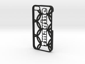 iPhone 5 Case - Customizable in Black Natural Versatile Plastic