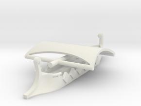 1/700 Short Trireme (2 piece) in White Natural Versatile Plastic