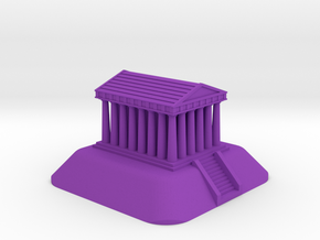 Temple in Purple Processed Versatile Plastic