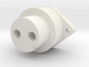 Spitfire Gunsight Power Plug in White Strong & Flexible