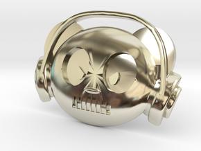 Panda Radio in 14k White Gold