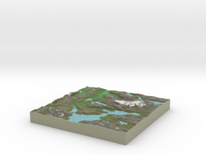 Terrafab generated model Mon Oct 06 2014 10:11:32  in Full Color Sandstone