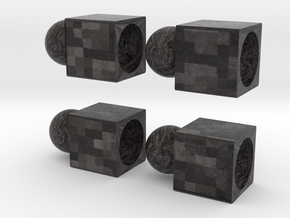 Four Interlocking Blocks  in Full Color Sandstone
