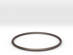 Mobius Bracelet in Polished Bronzed Silver Steel