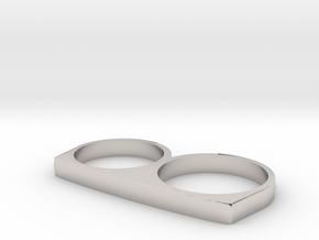 Dyplos Ring in Platinum