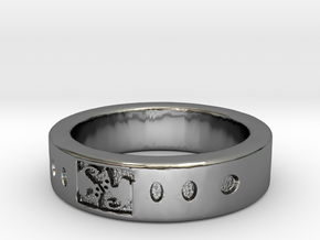 AnelloCAT RING in Fine Detail Polished Silver