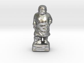 The Saigousan-mini in Natural Silver
