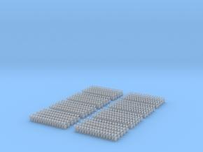 Kurze Kupplungen - 640 Stück in Frosted Ultra Detail