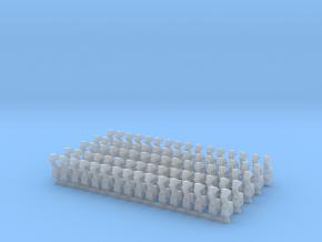 Kurze Kupplungen - 80 Stück in Frosted Ultra Detail