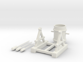 Clash of Clans Air Defense in White Natural Versatile Plastic