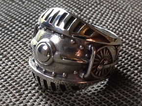 Train Kept A Rollin' Ring- Size 12 (21.49 mm) in Polished Silver