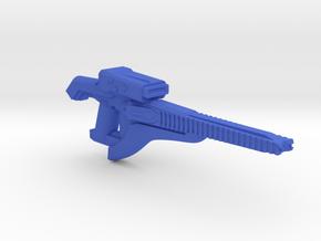 Plasma Beam Carbine  in Blue Processed Versatile Plastic