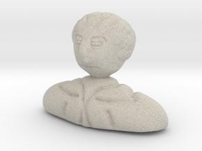 Sherlock Bust in Sandstone