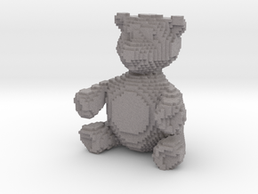 "Sand Microcube Bear (2"" tall) in Full Color Sandstone"