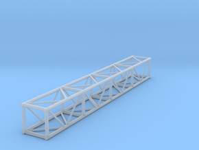 "1:24 8' 12""x12"" Box Truss in Smooth Fine Detail Plastic"