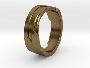 Ring Size E in Natural Bronze