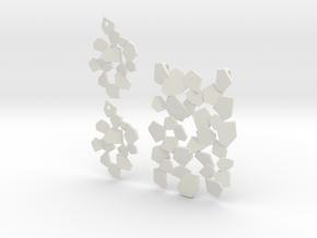 Fracte in White Natural Versatile Plastic