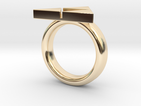 Triforce Ring - Zelda size 8(other sizes just ask) in 14K Yellow Gold