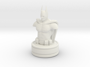 Batman in White Natural Versatile Plastic
