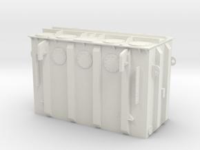 Electric transformer in White Natural Versatile Plastic