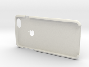 IPhone6 Plus Open Style With Logo in White Strong & Flexible
