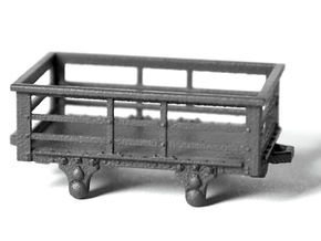 5x FR type 2t Slate Wagons (009) in Frosted Ultra Detail