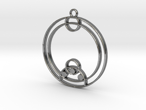 Zoe - Necklace in Polished Silver