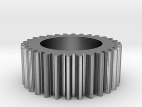 Gear Mn=2 Z=30 Pressure Angle=20° Beta=0° in Natural Silver