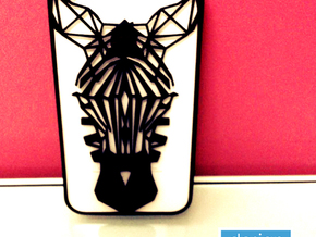 Zebra iphone 4s Case in Black Natural Versatile Plastic