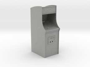 "3"" Arcade Cabinet - Desk Toy in Metallic Plastic"