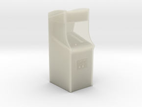 """3"""" Arcade Cabinet - Desk Toy in Transparent Acrylic"""