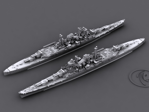 1/1800 IJN CA Mikuma[1942] in White Natural Versatile Plastic