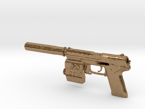 1/6 Socom MK23 in Natural Brass