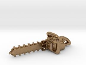 Chainsaw in Raw Brass
