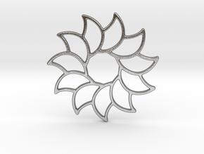 Dreamcatcher - Sunflower  in Natural Silver
