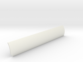 Heat Shield Port V0.1 in White Natural Versatile Plastic