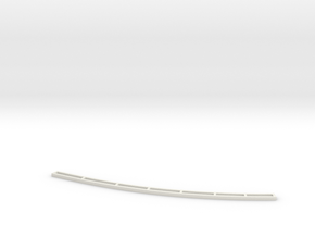 N scale track template in White Natural Versatile Plastic