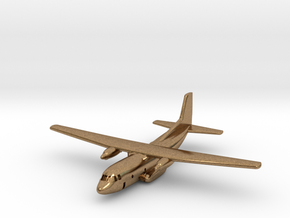 1:700 Transall C-160 military transport aircraft  in Natural Brass