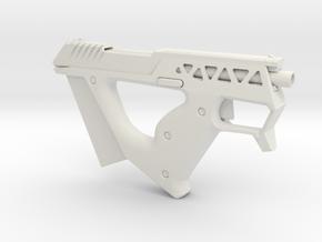 Bullpup Pistol in White Natural Versatile Plastic