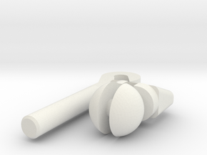 MDD Wrist Replacement Final in White Natural Versatile Plastic