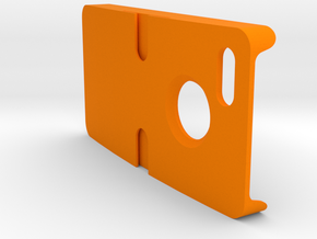 """The Prompt"" for iPhone 4/4s Case/Windshield/Dash  in Orange Processed Versatile Plastic"