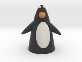 Penguin with wings in Full Color Sandstone
