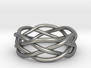 Dreamweaver Ring (Size 7) in Natural Silver