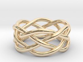 Dreamweaver Ring (Size 6) in 14K Yellow Gold