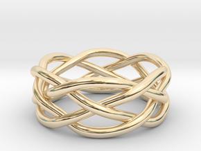 Dreamweaver Ring (Size 8.5) in 14K Yellow Gold