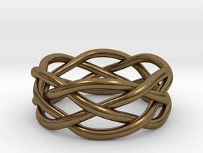 Dreamweaver Ring (Size 8.5) in Natural Bronze