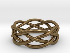 Dreamweaver Ring (Size 11) in Natural Bronze