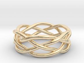 Dreamweaver Ring (Size 11.5) in 14K Yellow Gold